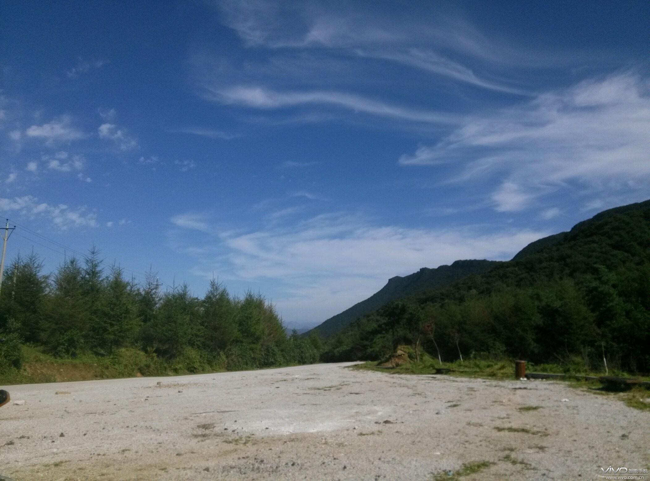 陕西汉中南郑县黎坪国家森林公园,路过