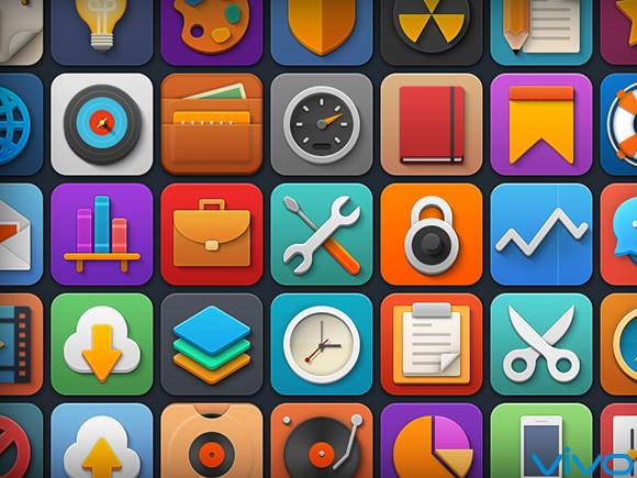 【图标】手机图表设计素材png图标-手机主题-vivo