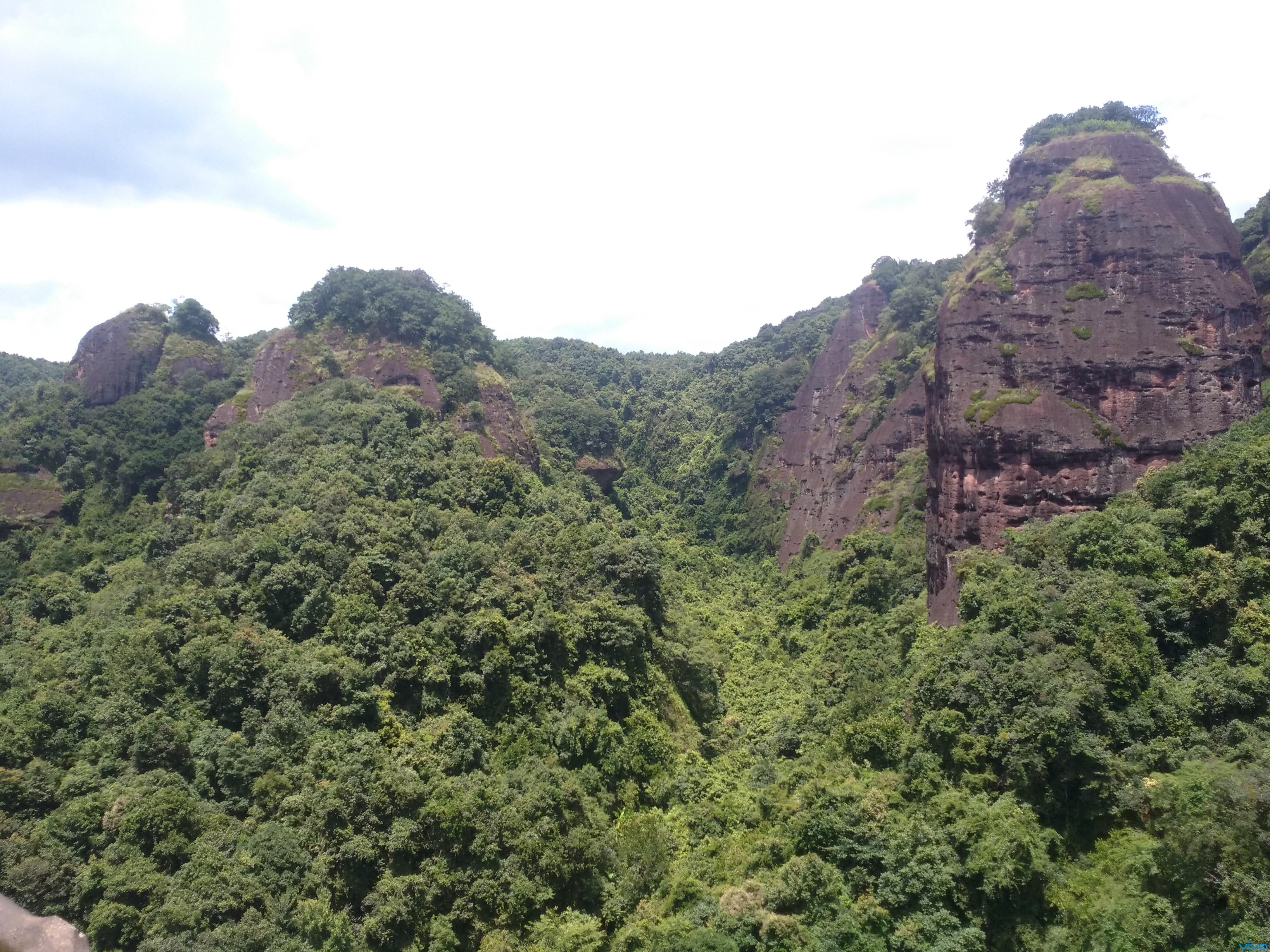 广东梅州市平远县五指石风景1