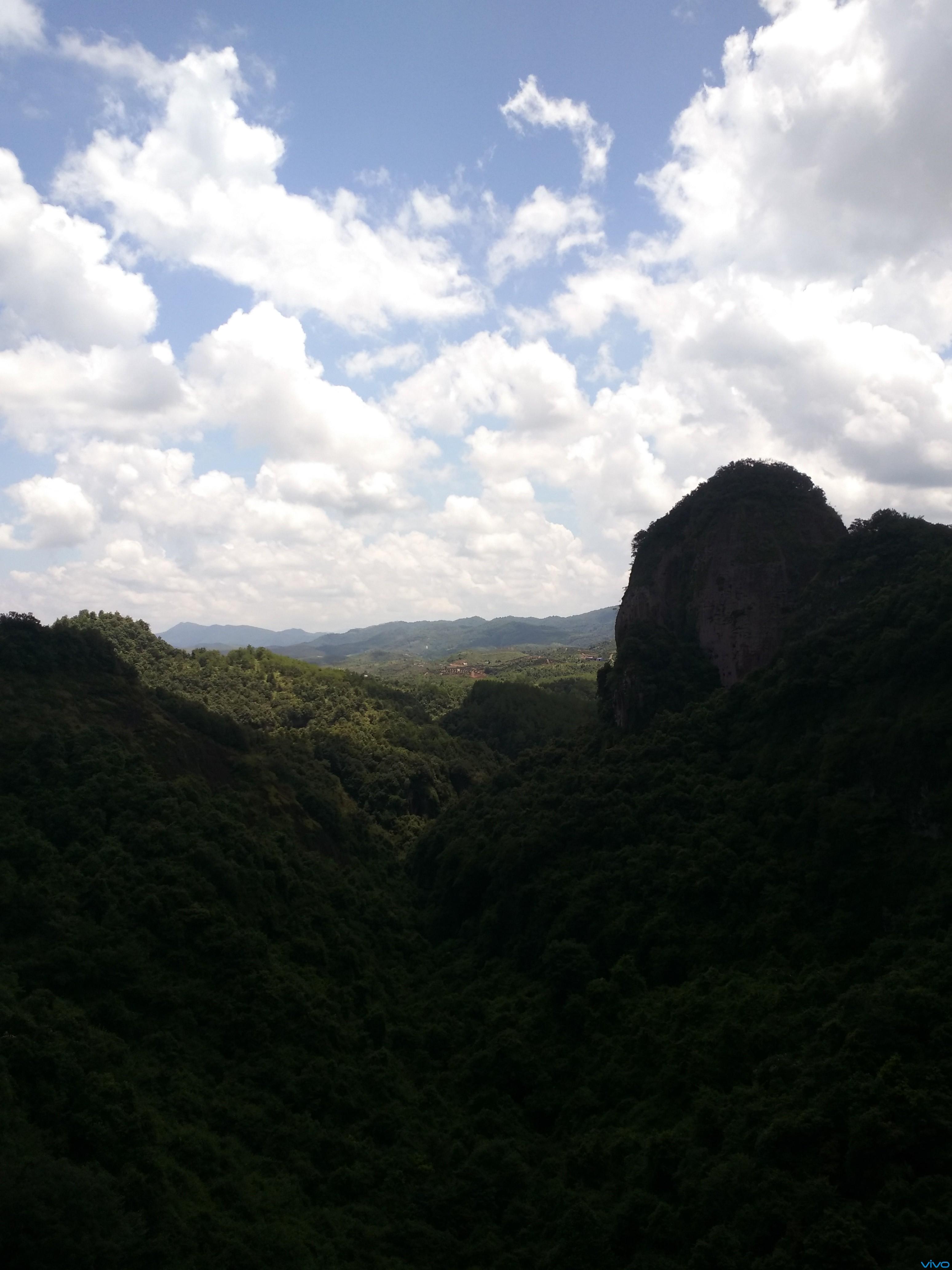 广东梅州市平远县五指石风景2