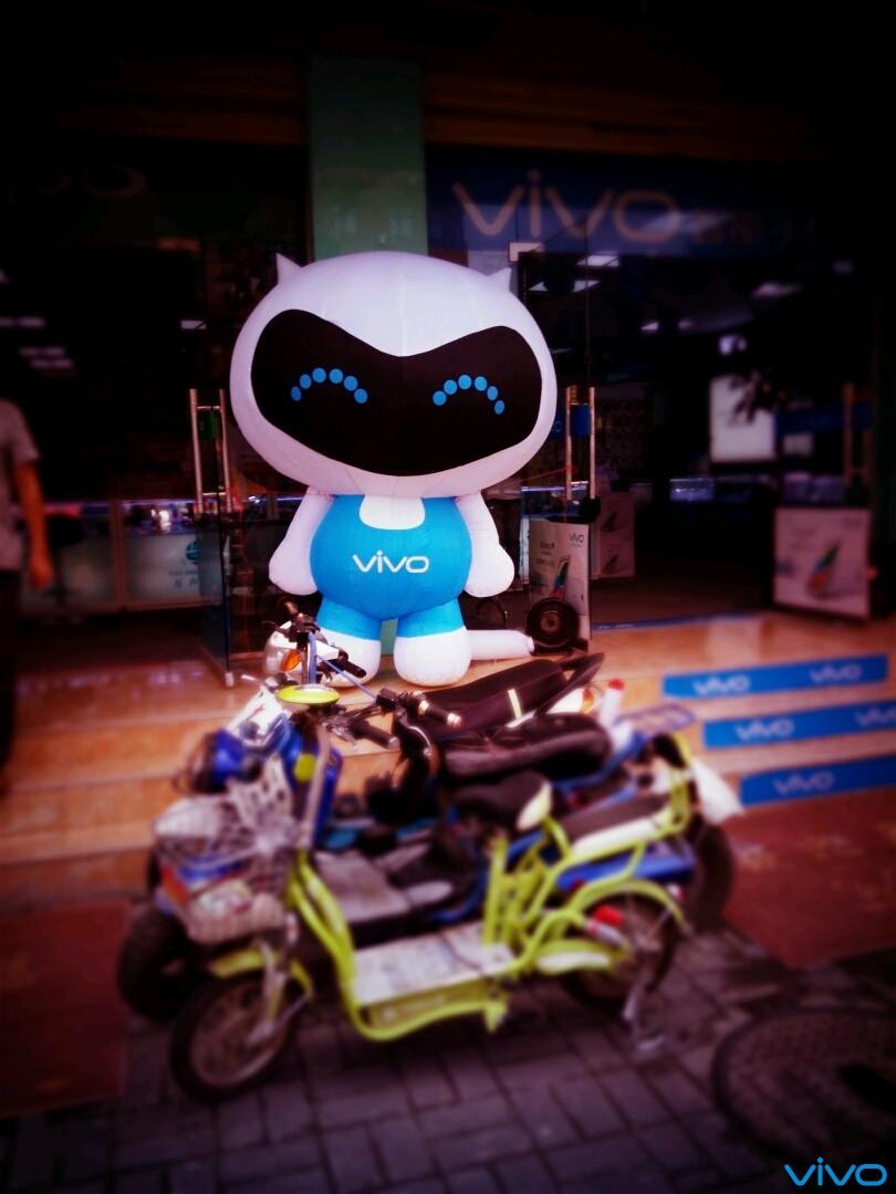 卡哇伊,vivo机器人.