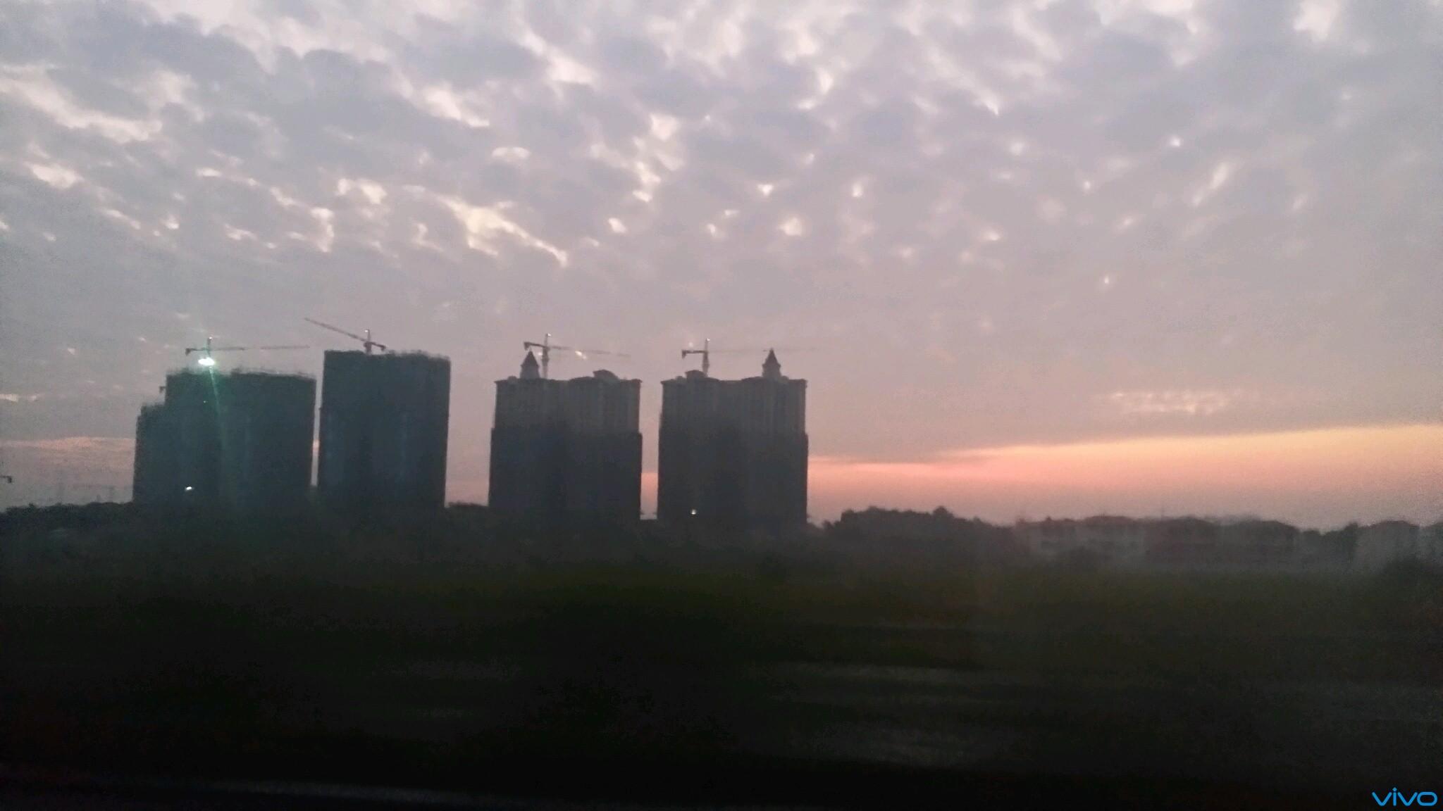 日出早上太阳刚升起