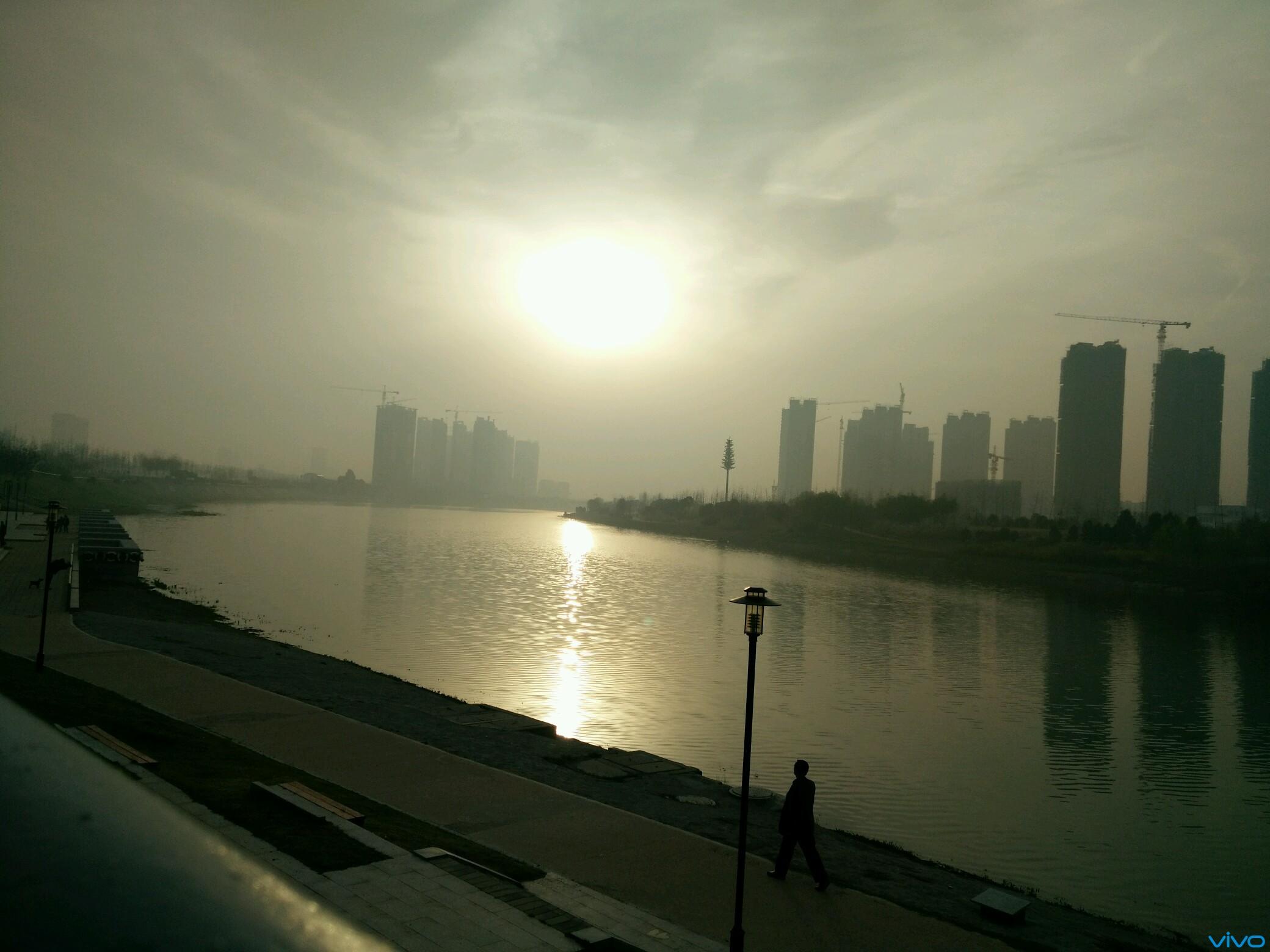 五妹随拍 漯河沙河风景区