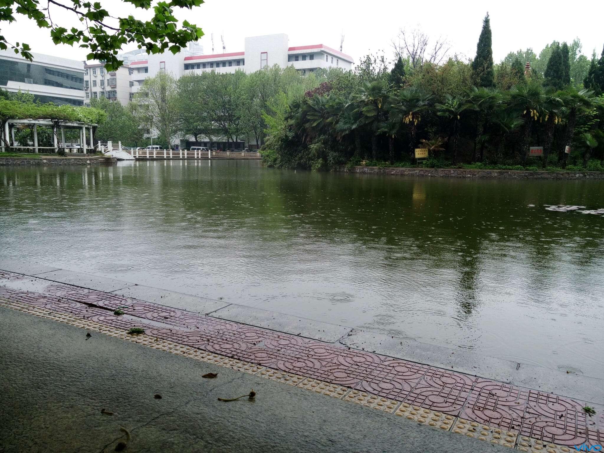 雨天的风景简笔画