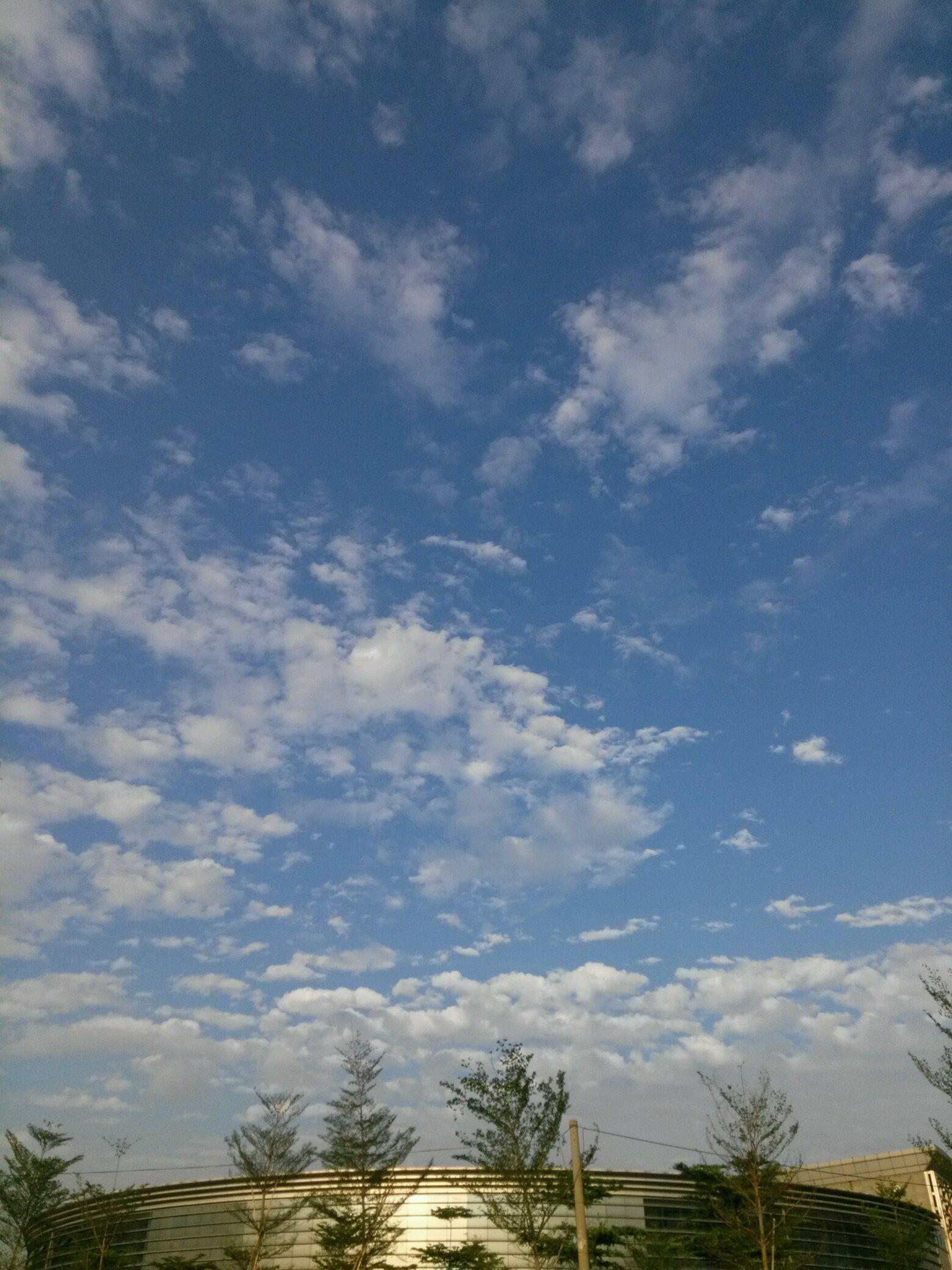 【最美天空】蓝天白云