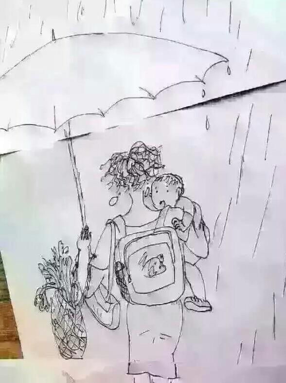 贵族学校手绘图