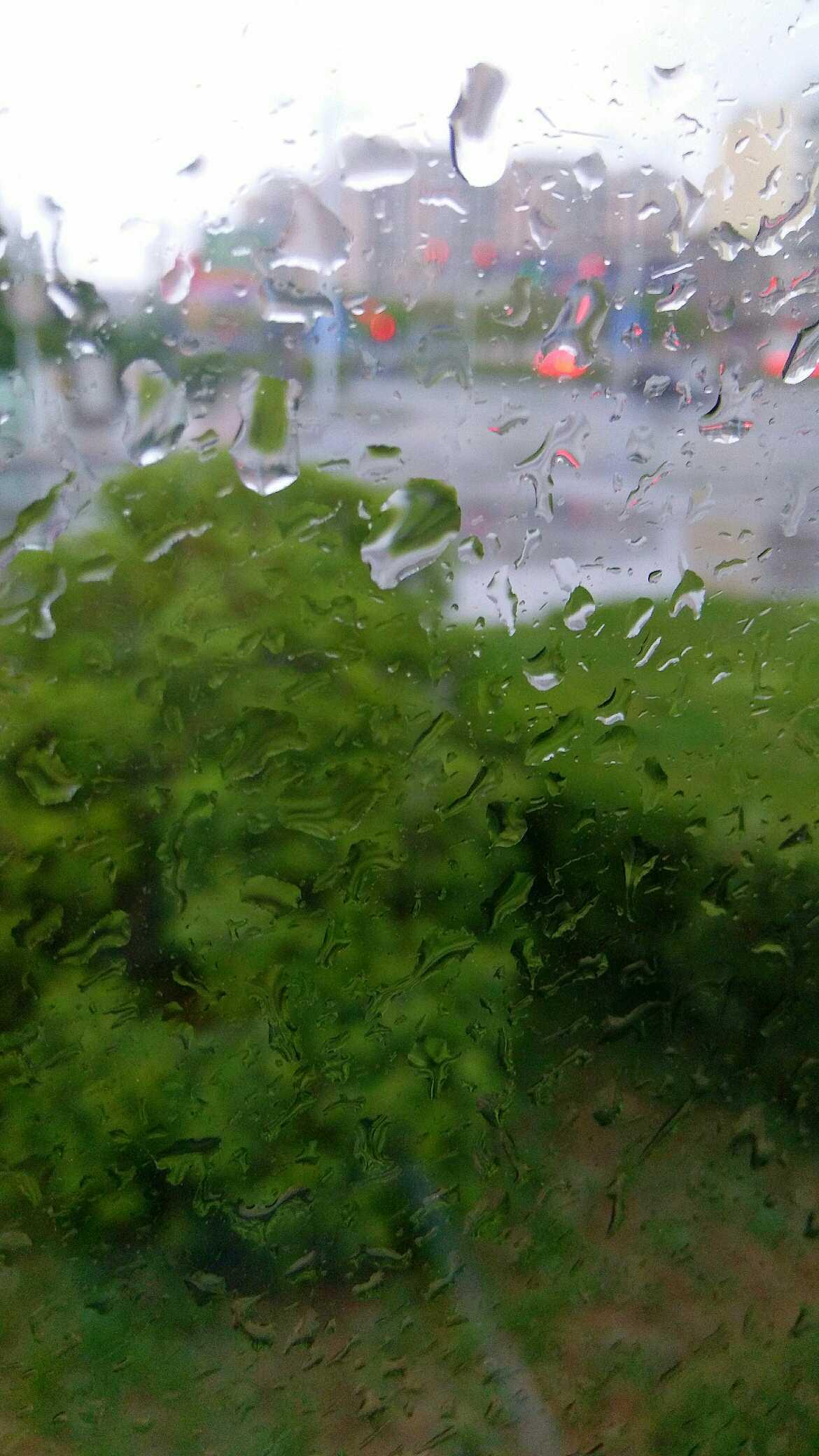 us A 雨的抽象画
