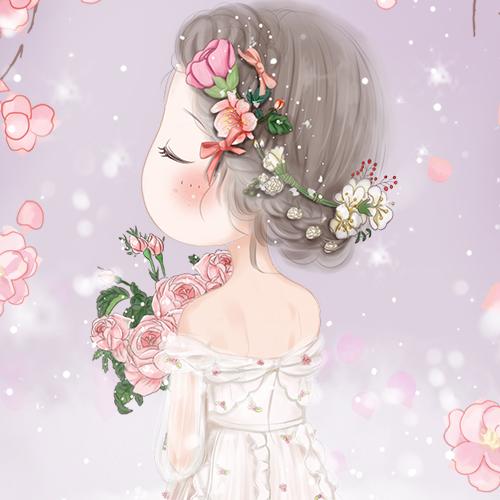 唯美可爱风小薇壁纸