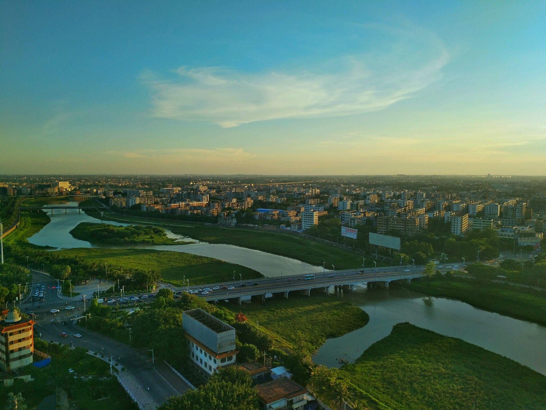 【摄影达人·x7plus】高空环拍城市