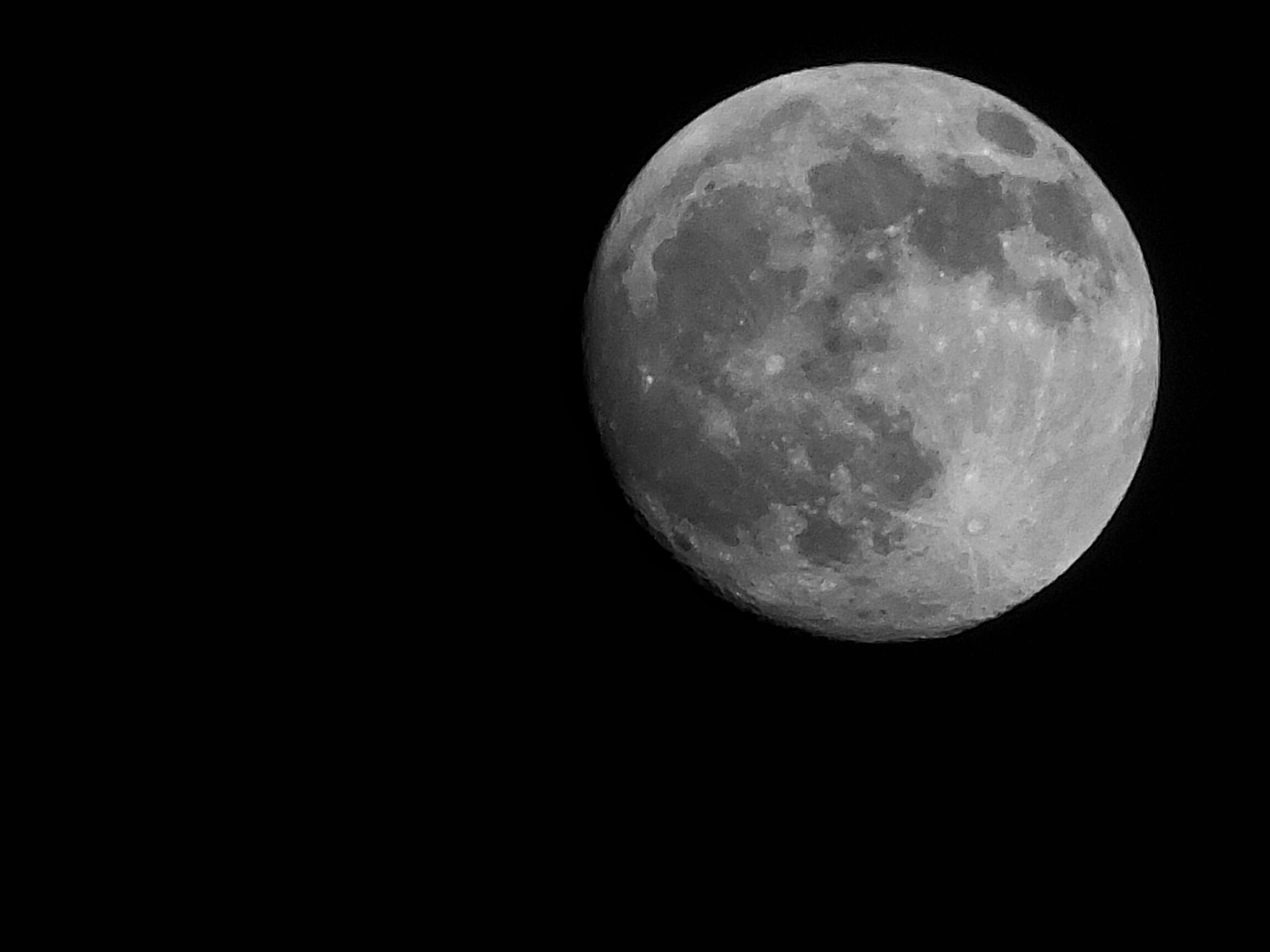 【中秋节快乐】大月亮照片