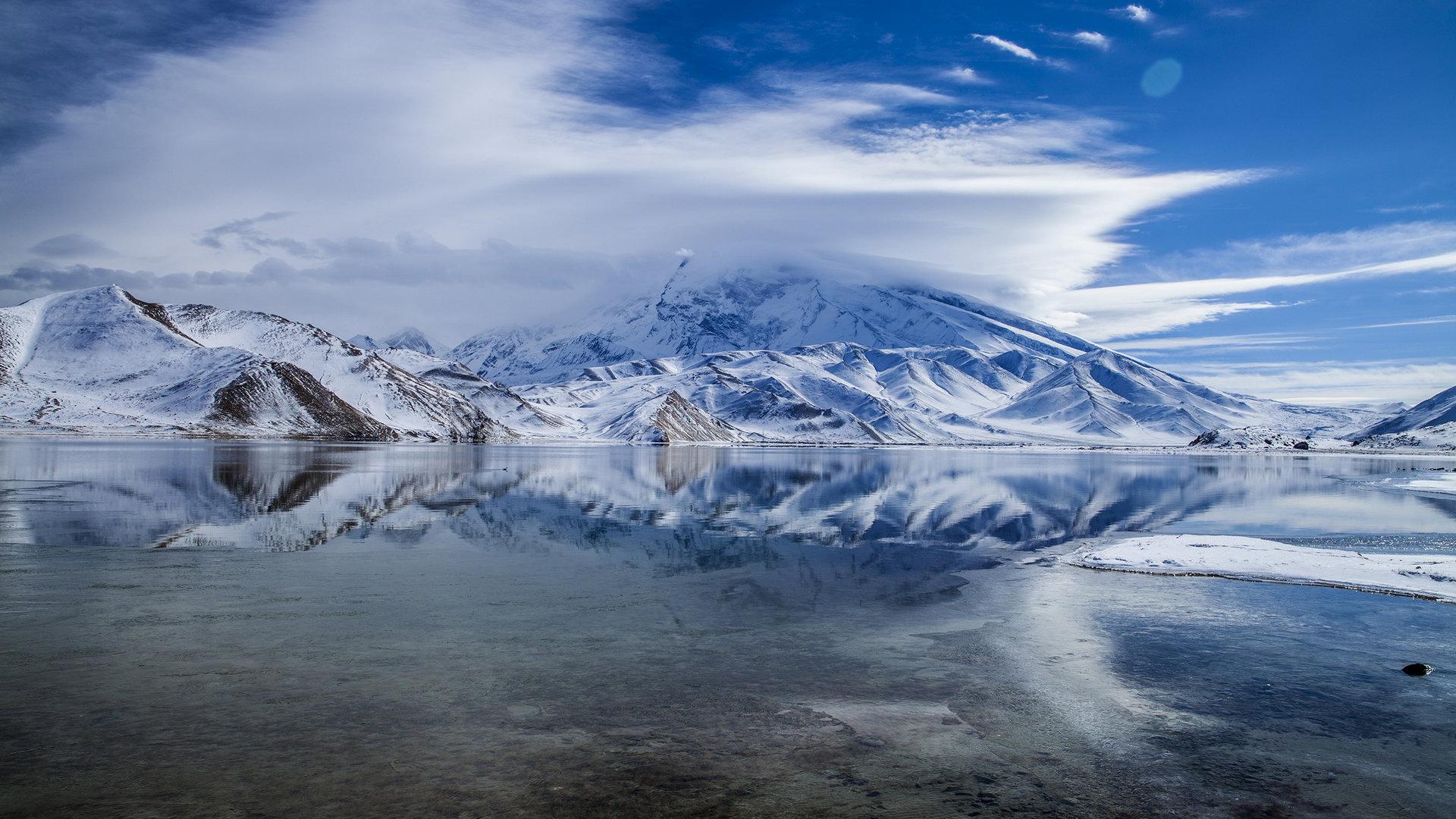 慕士塔格峰风景