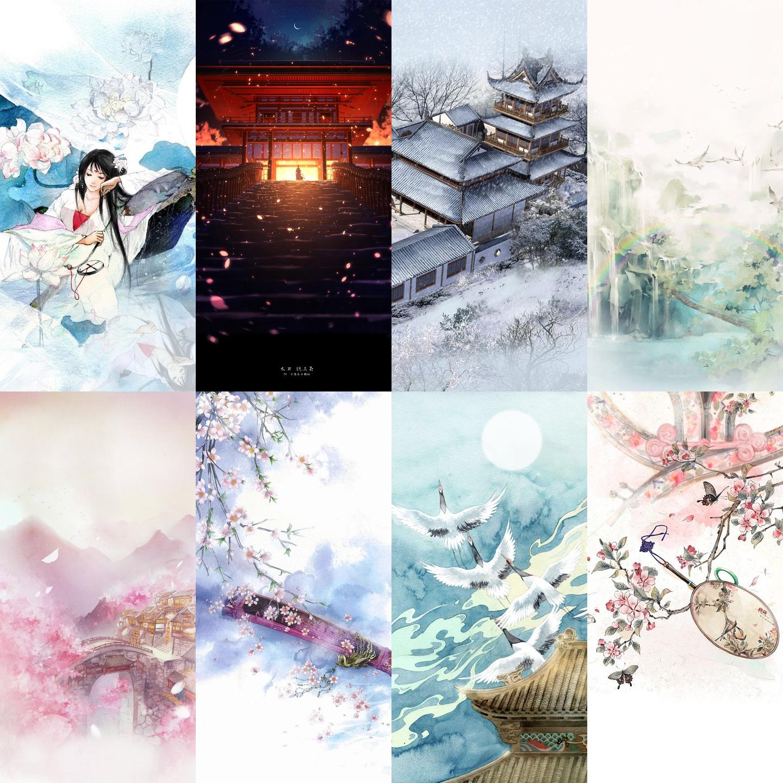 【资源组丨壁纸】唯美古风如梦似幻