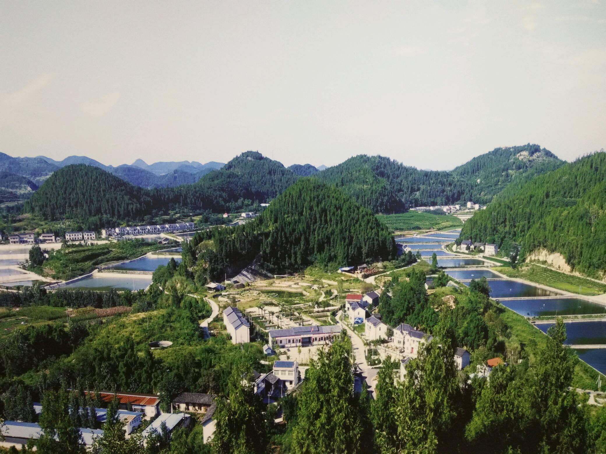 盐亭地理风景图片