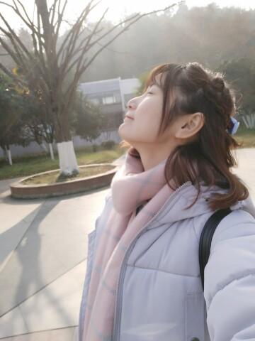 天气晴朗,心情美丽