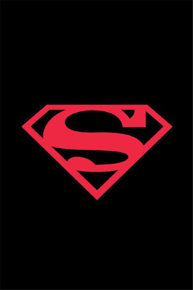 【v粉壁纸】个性卡通超人标志壁纸
