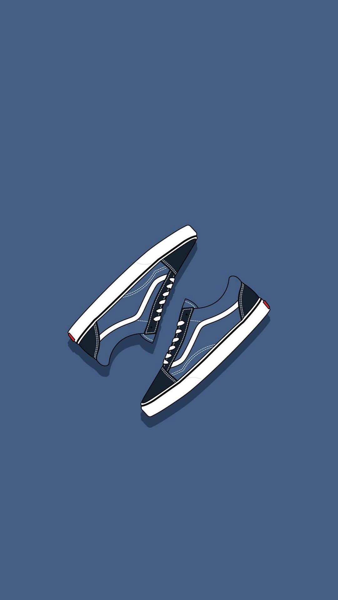 【v粉壁纸】创意手绘板鞋【9p】