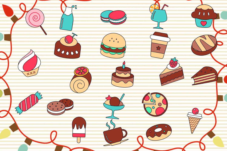 【v粉主题组】【图标素材】【美味食物图标】