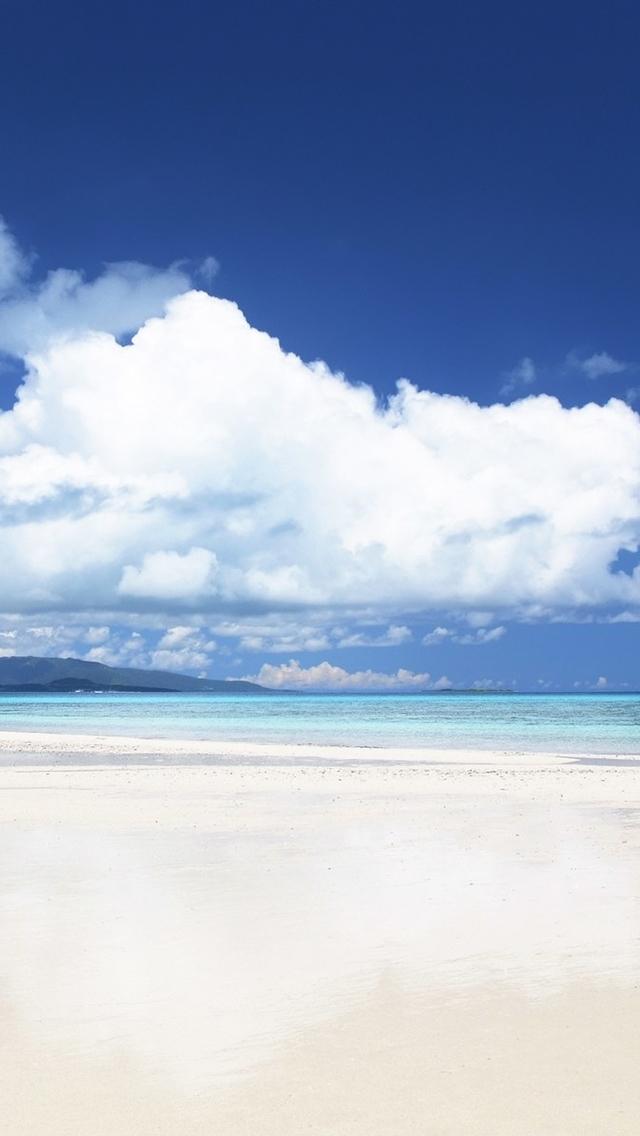 【v粉壁纸】沙滩海岸高清手机壁纸【9p】【1136×640】