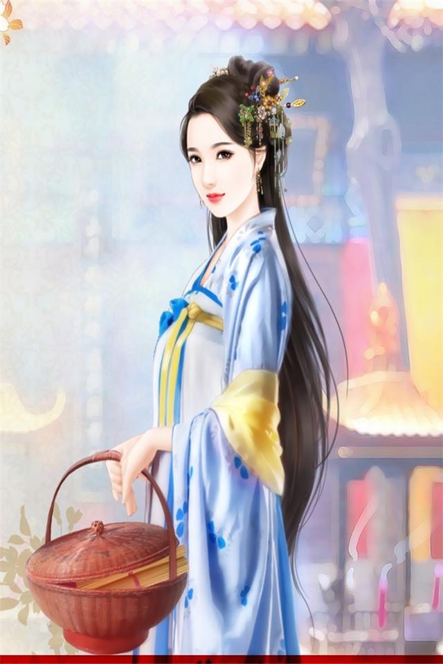 【v粉壁纸】古装美女手绘图片-第2页-资源分享-vivov