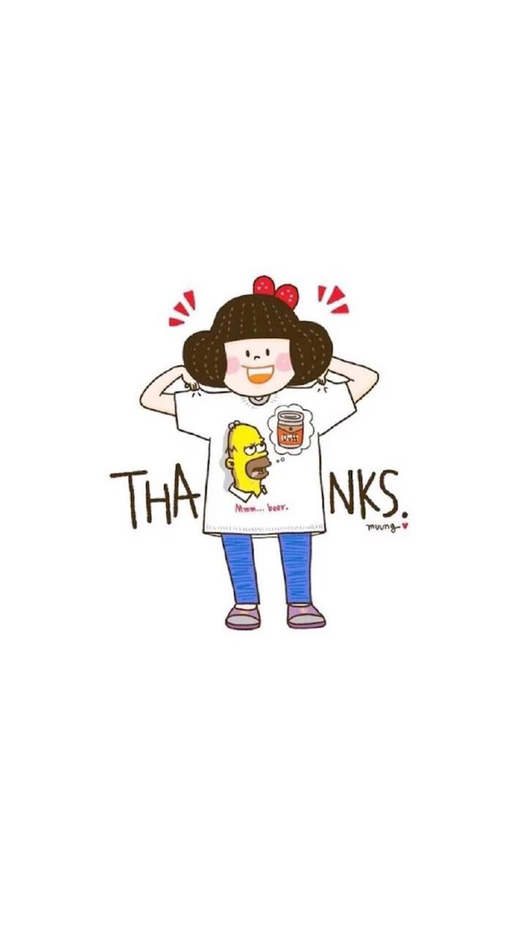 【v粉壁纸】简约可爱卡通图片手机壁纸
