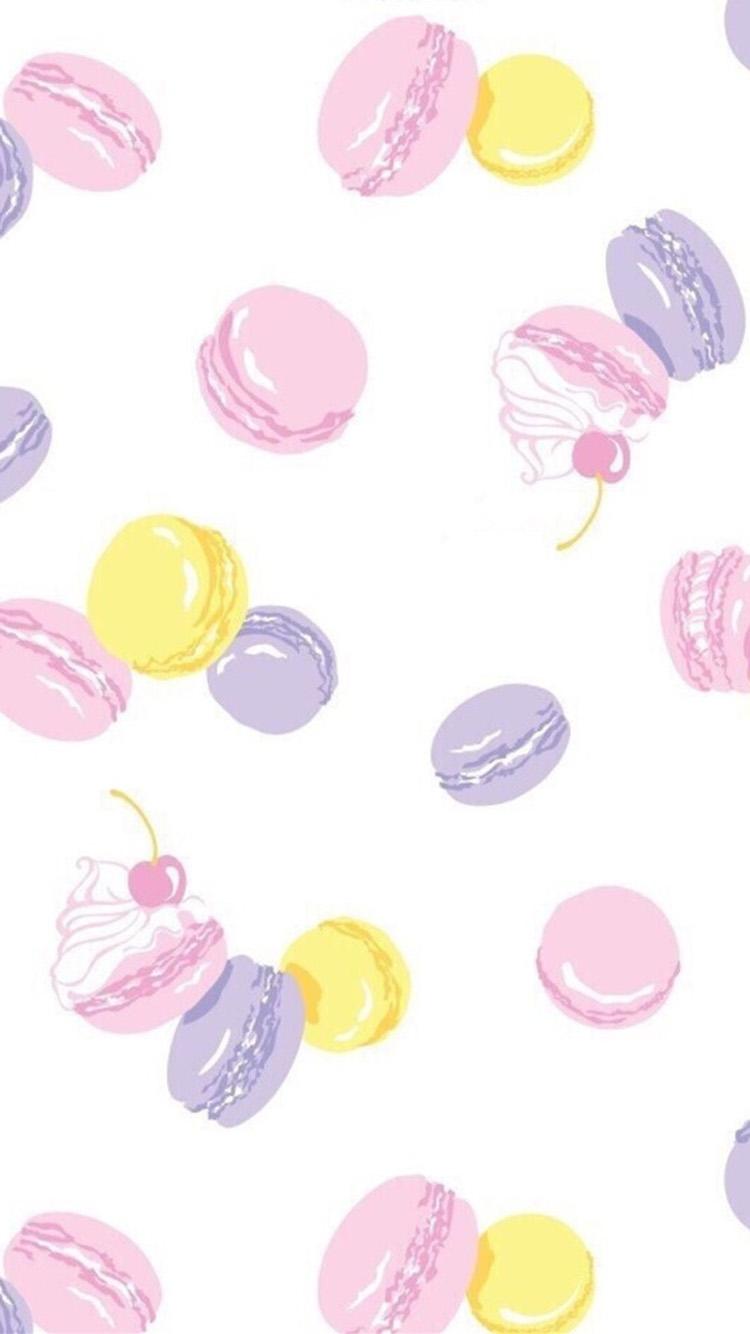 【v粉壁纸】小清新马卡龙可爱卡通壁纸