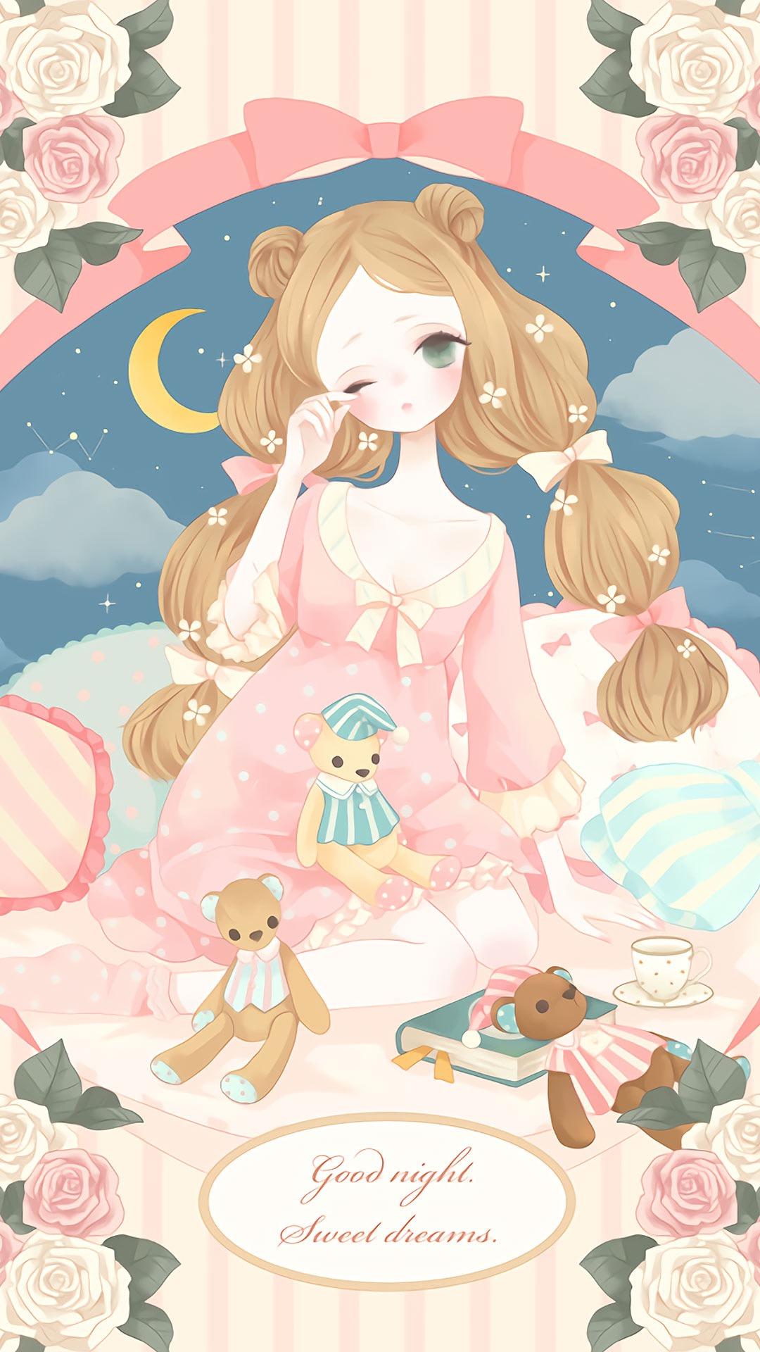 【v粉壁纸】可爱动漫美少女公主