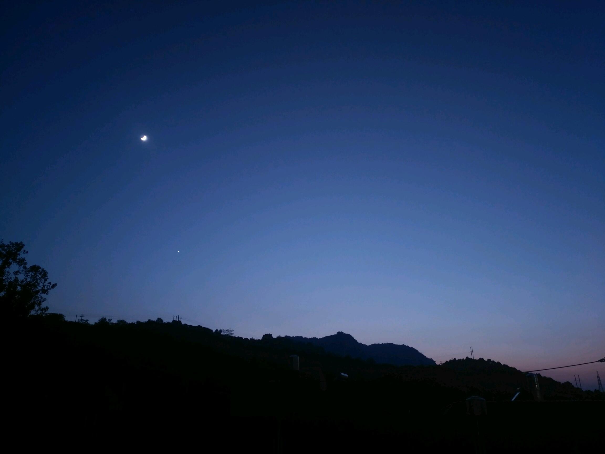 风景图片大全  夜空