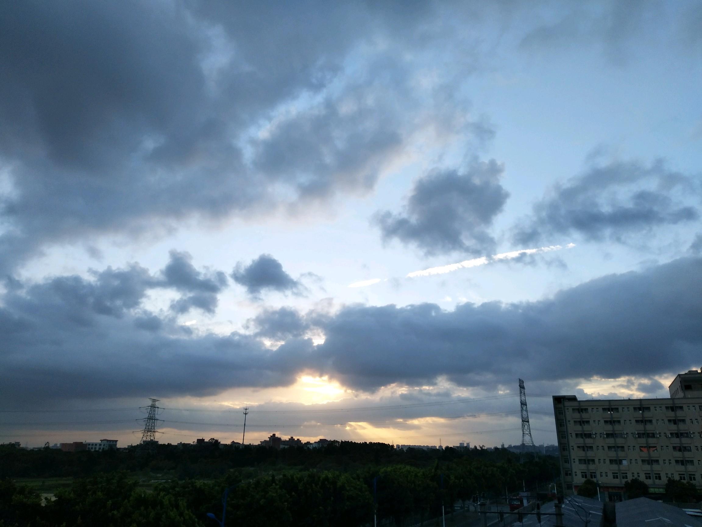 【城市夜景】乡村夜景