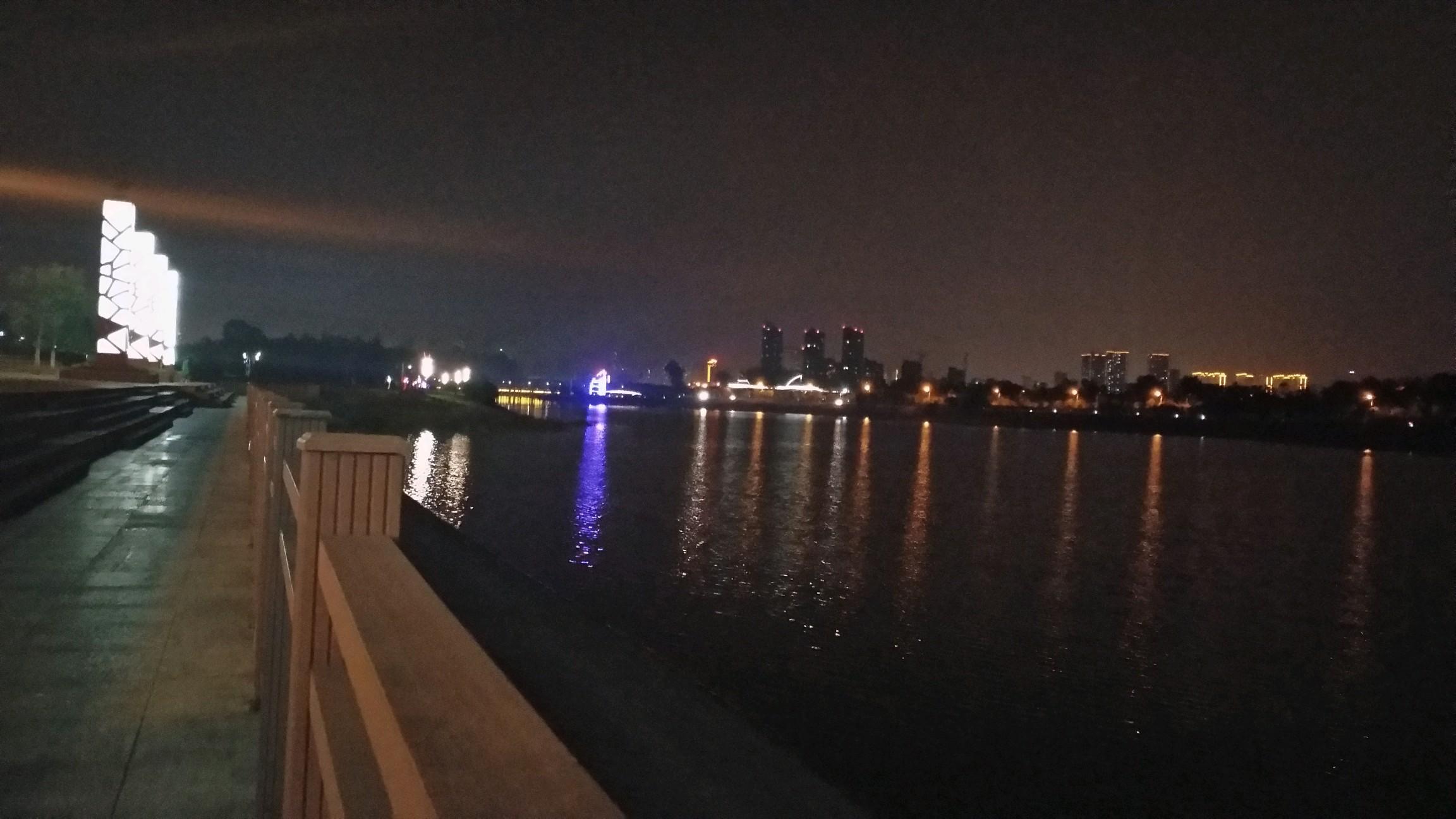 夜晚的风景