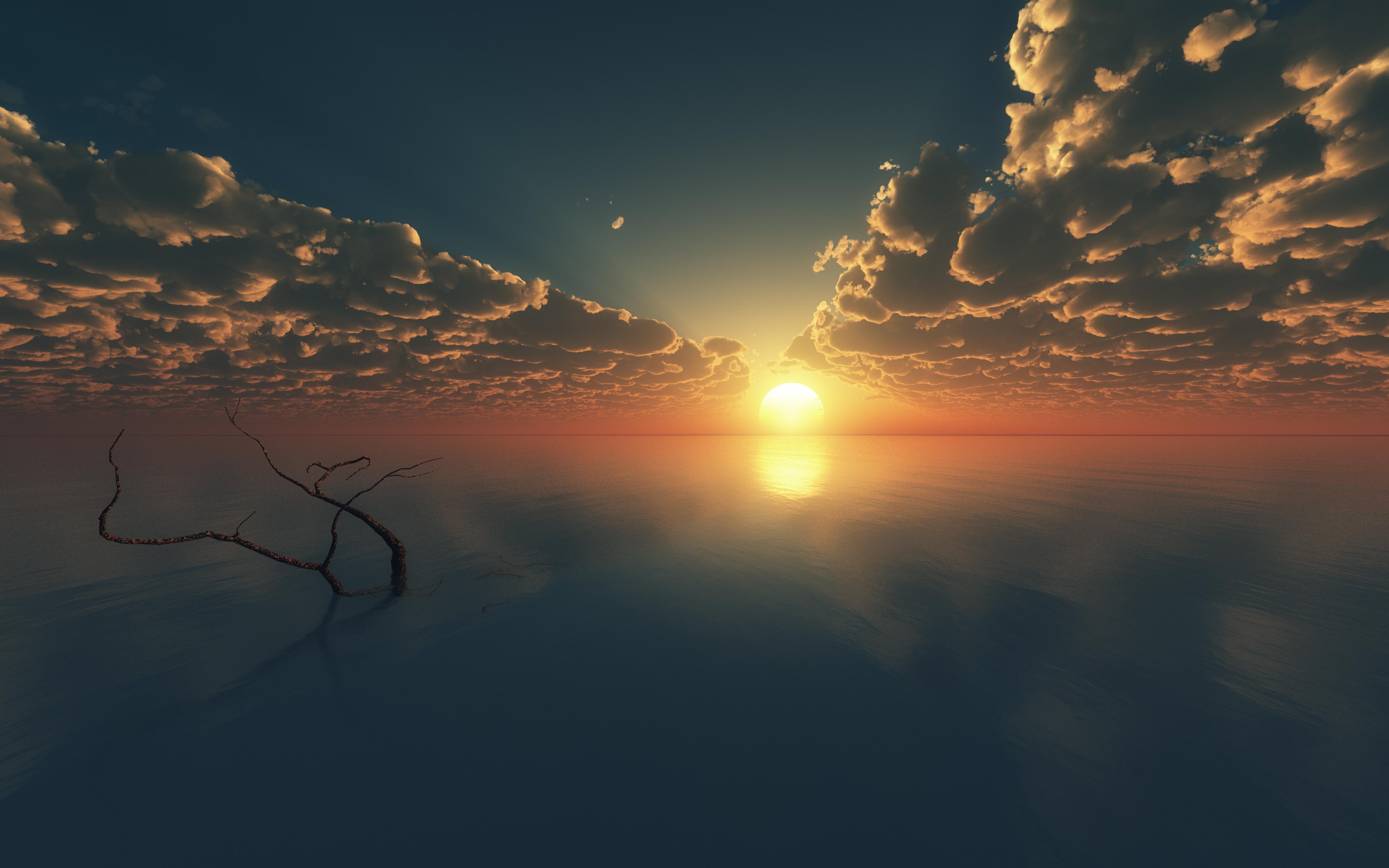 背景 壁纸 风景 天空 桌面 3840_2400