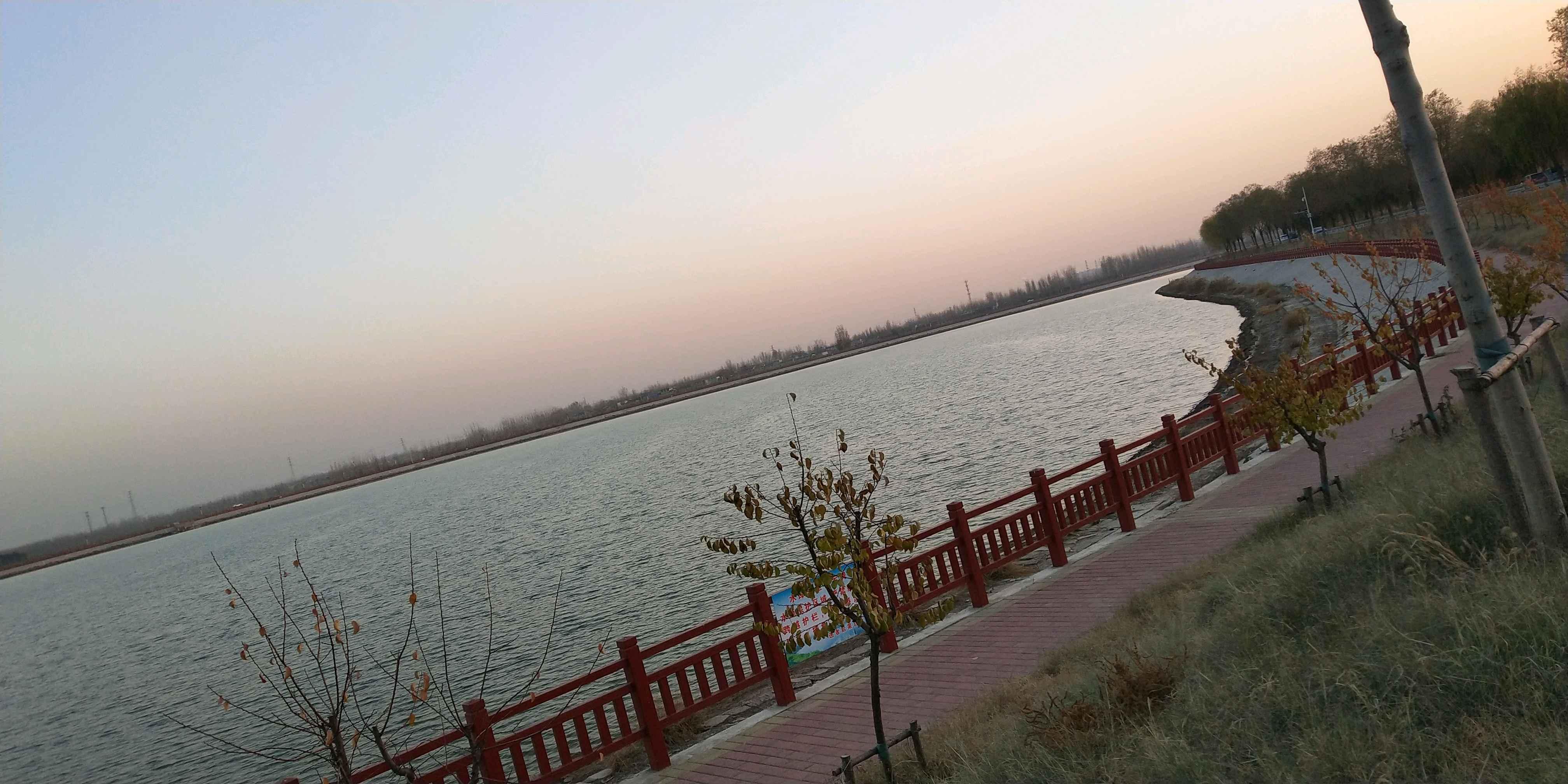 山东济宁汶上县莲花湖