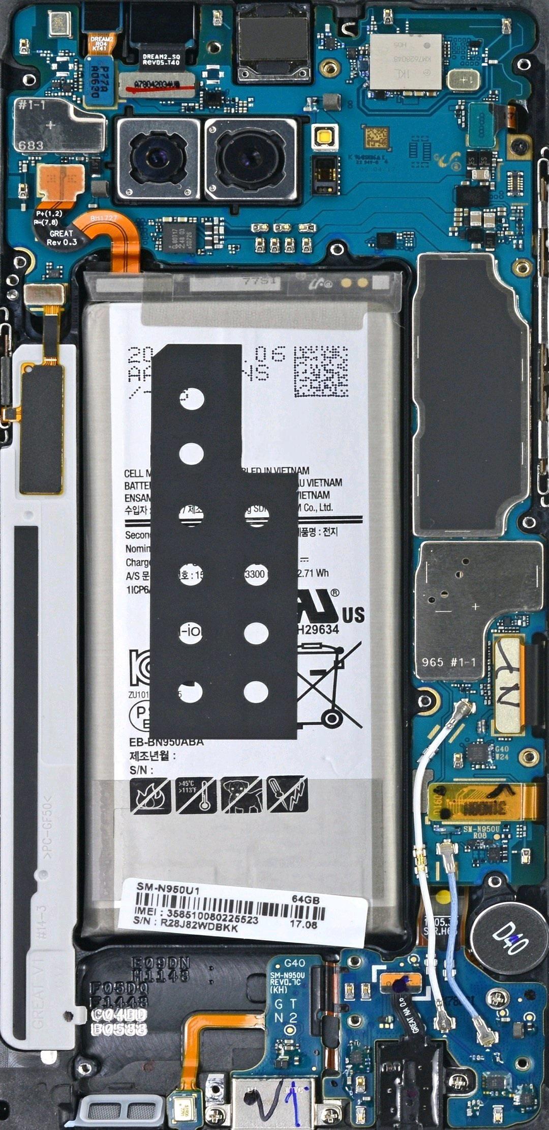 【v粉壁纸】手机电路板壁纸【8p】