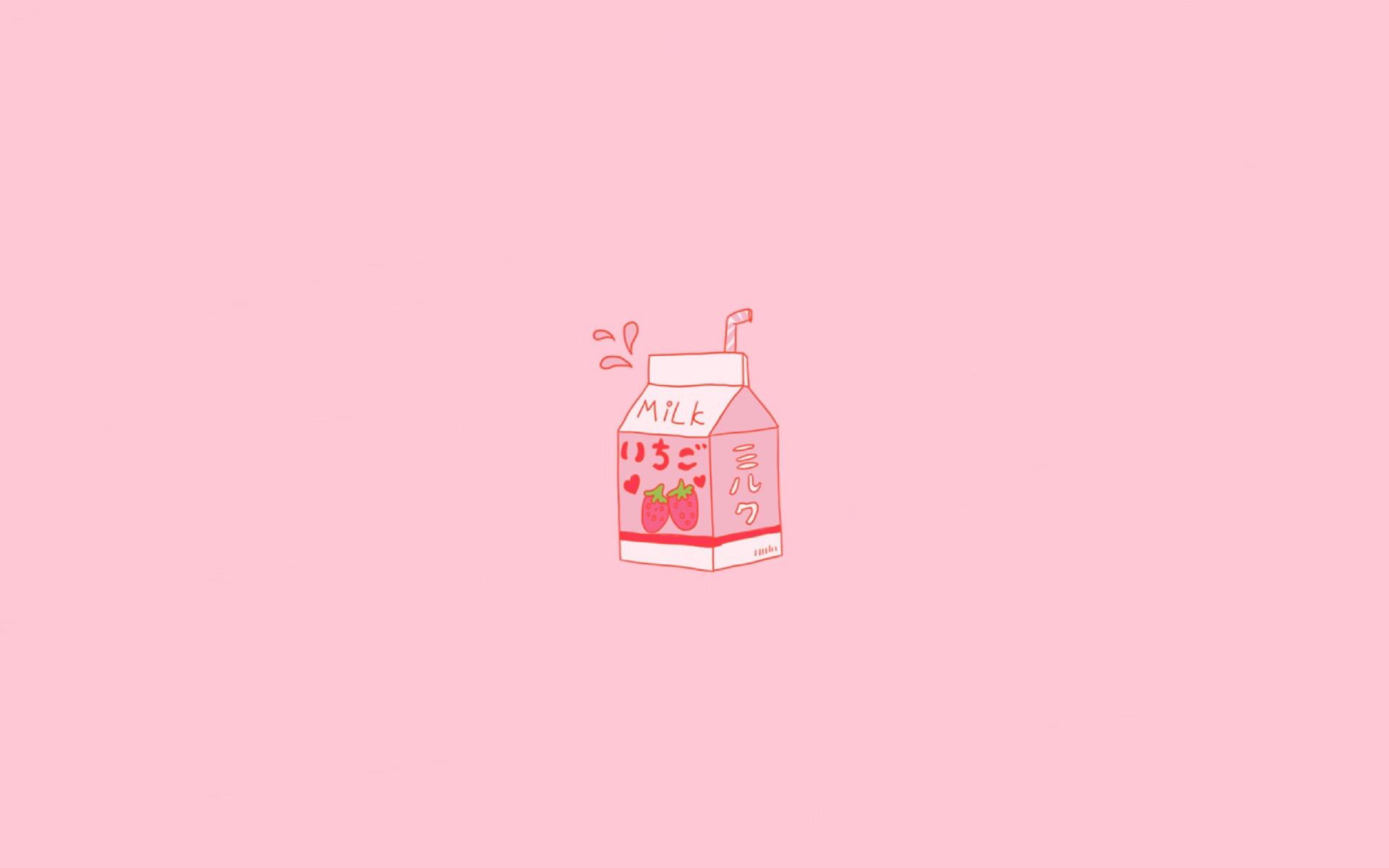 【v粉壁纸】粉色少女心高清卡通壁纸