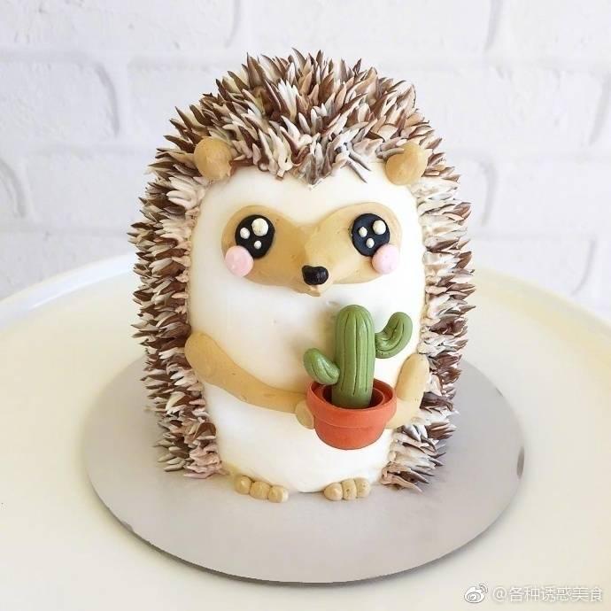超可爱的动物系列蛋糕
