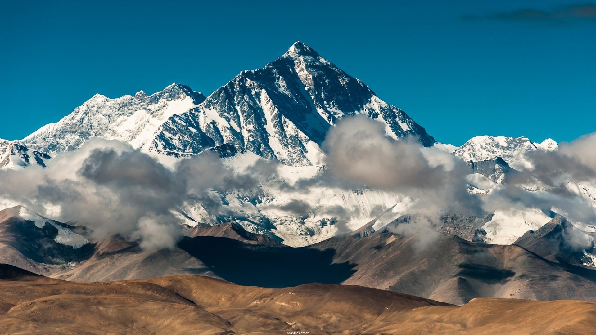 【v粉主题素材壁纸】喜马拉雅山图片高清壁纸
