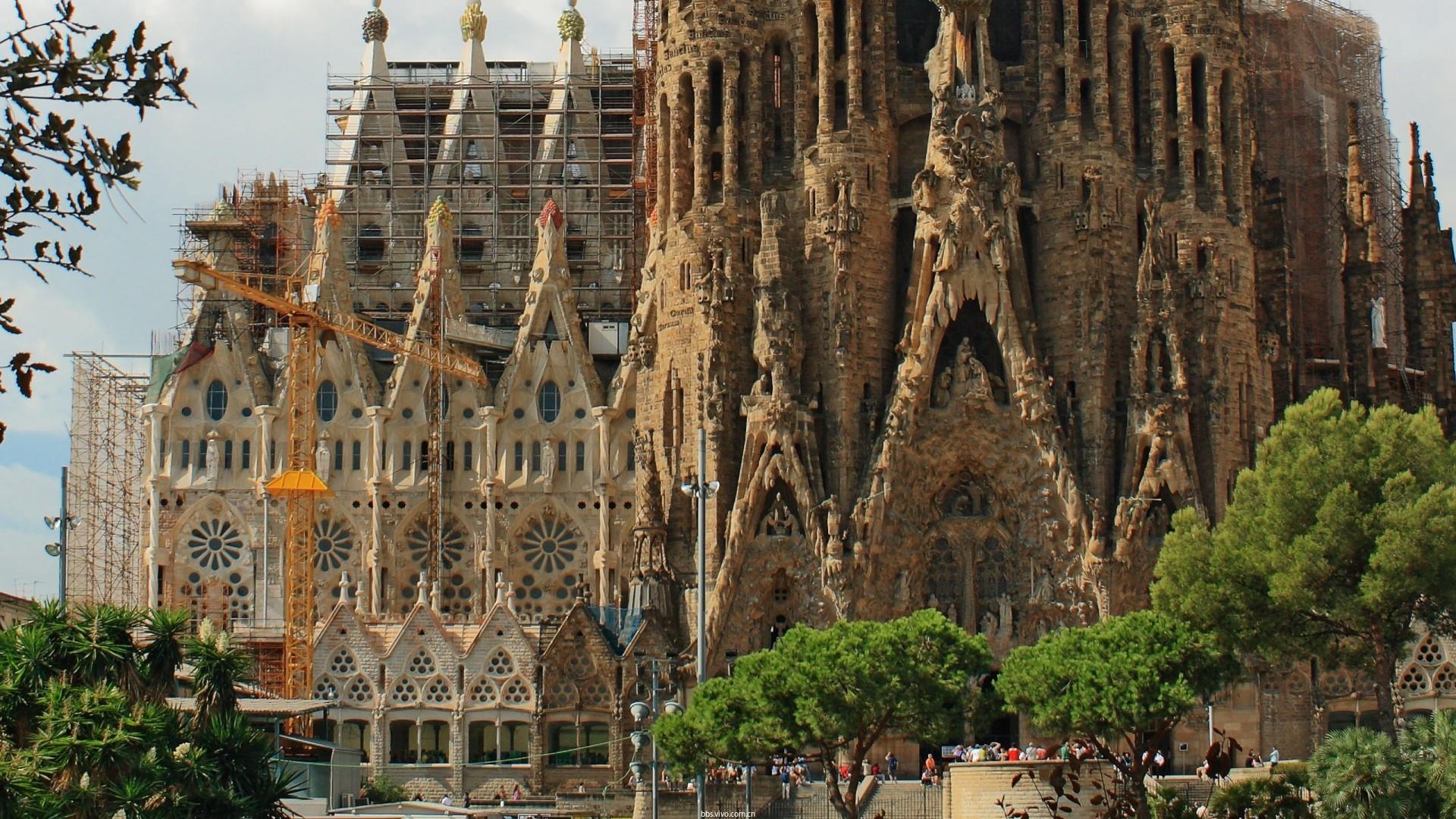 【v粉主题素材壁纸】异国建筑风景图片高清壁纸