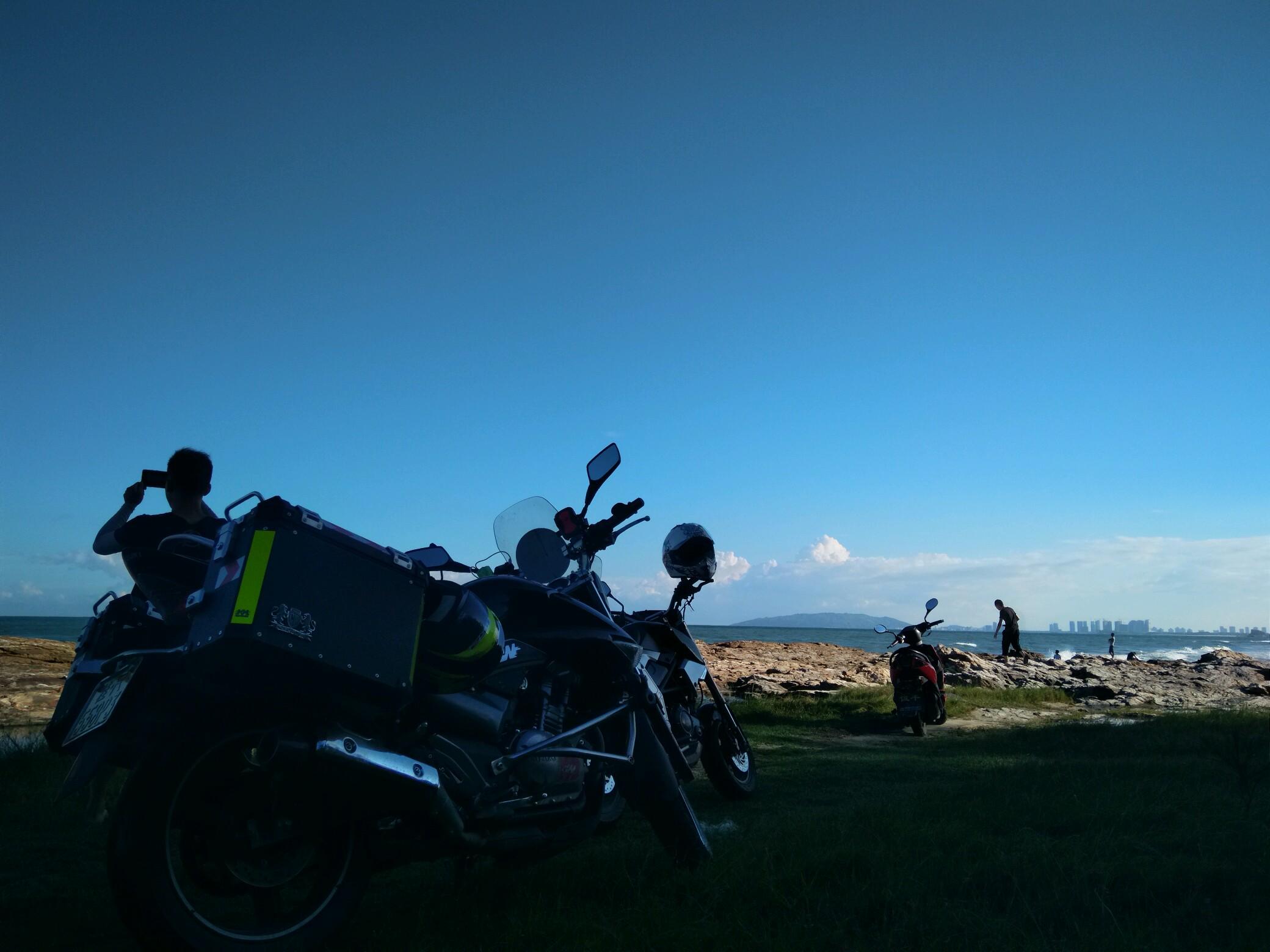 摩旅就是为了遇见最美的风景