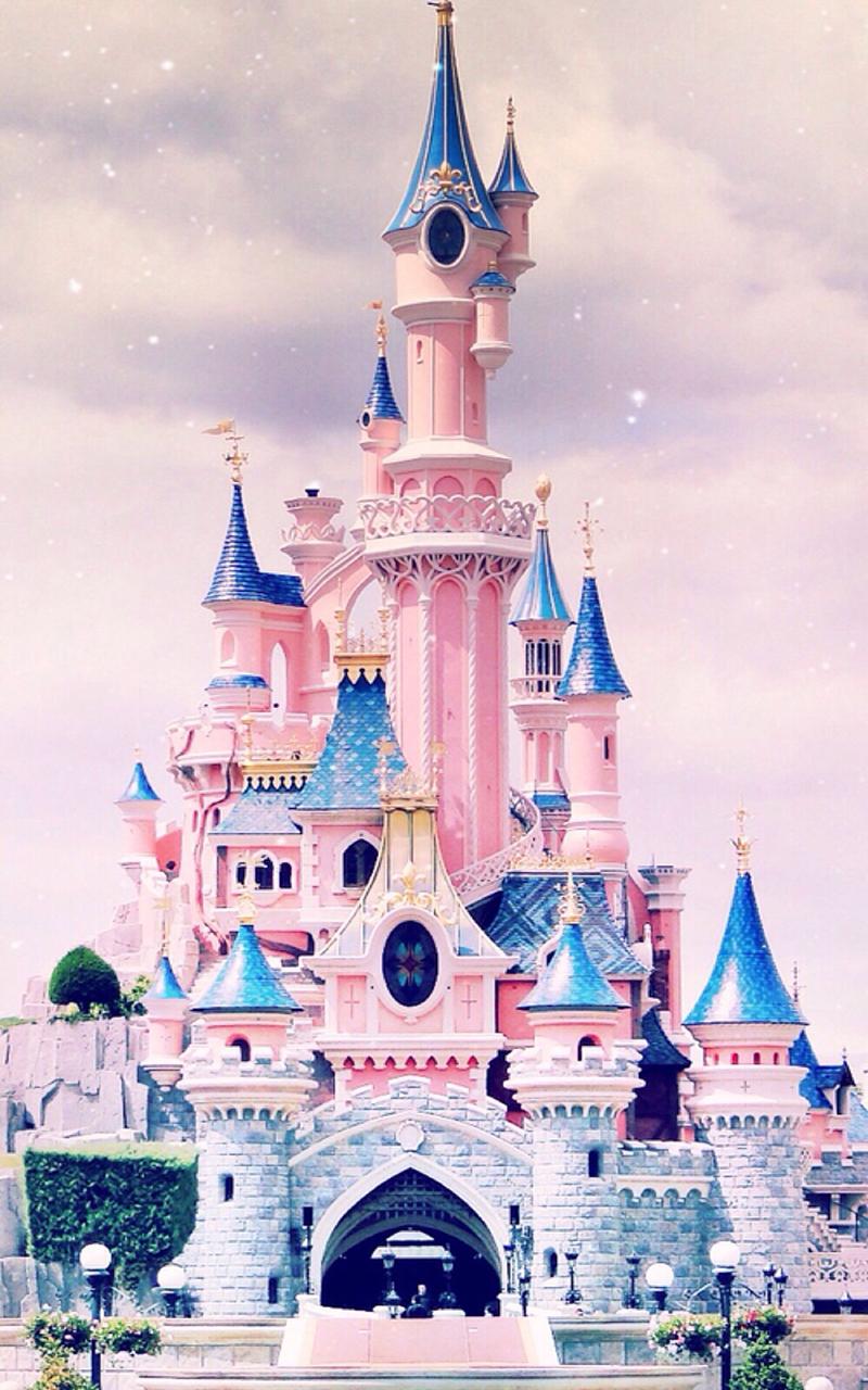 【v粉壁纸】迪士尼城堡风景高清手机壁纸