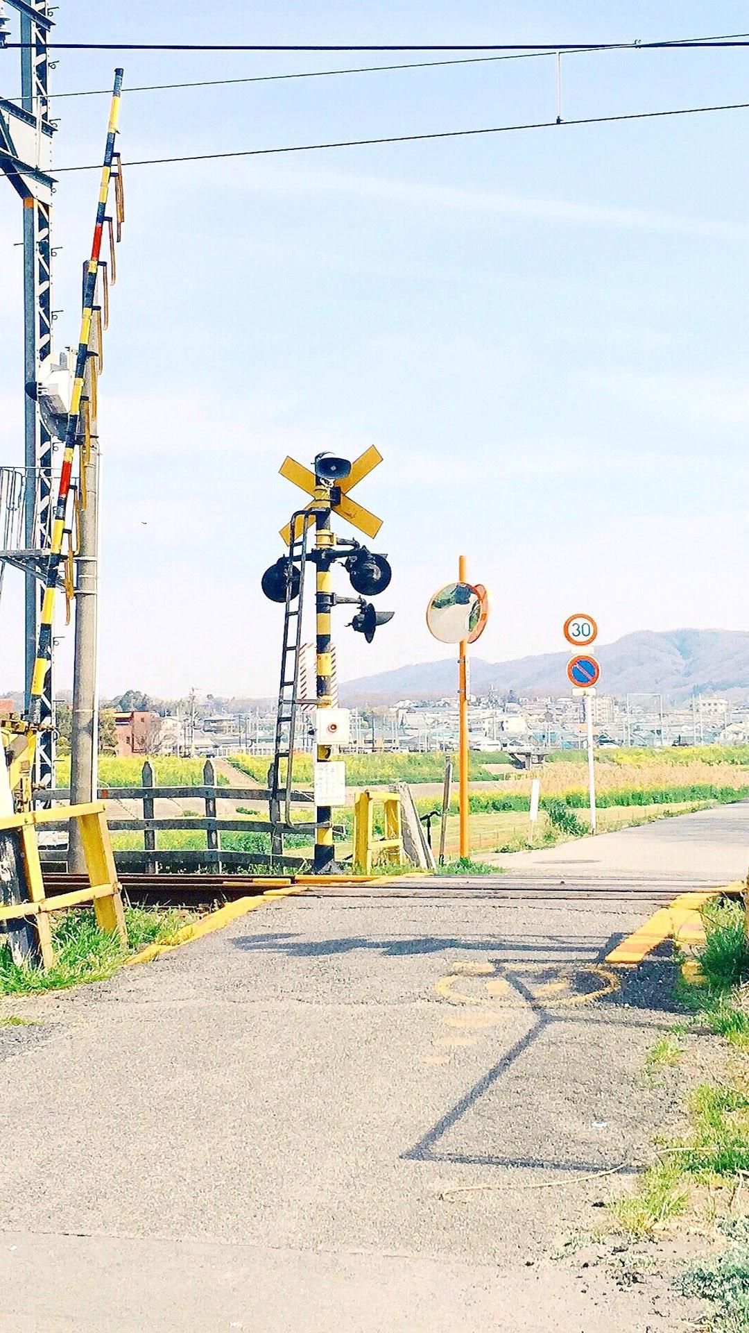 【v粉壁纸】日系小清新城市街景手机壁纸