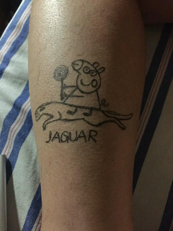 猪的纹身图案大全图片