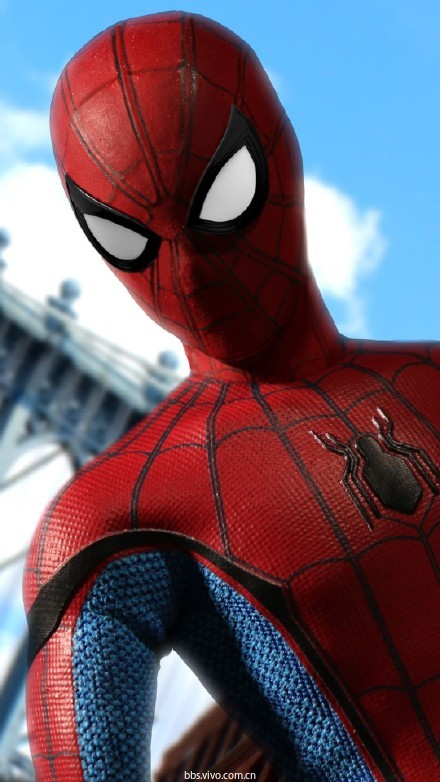 【壁纸】漫威超级英雄蜘蛛侠手机背景高清桌面壁纸下载