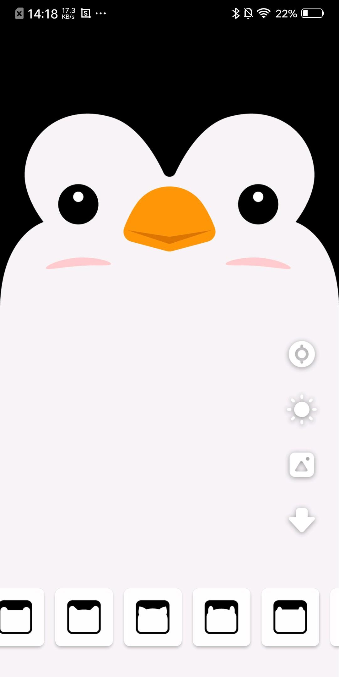 69 分享一个可以给刘海手机制作壁纸的app  作为一个刘海屏有深深图片
