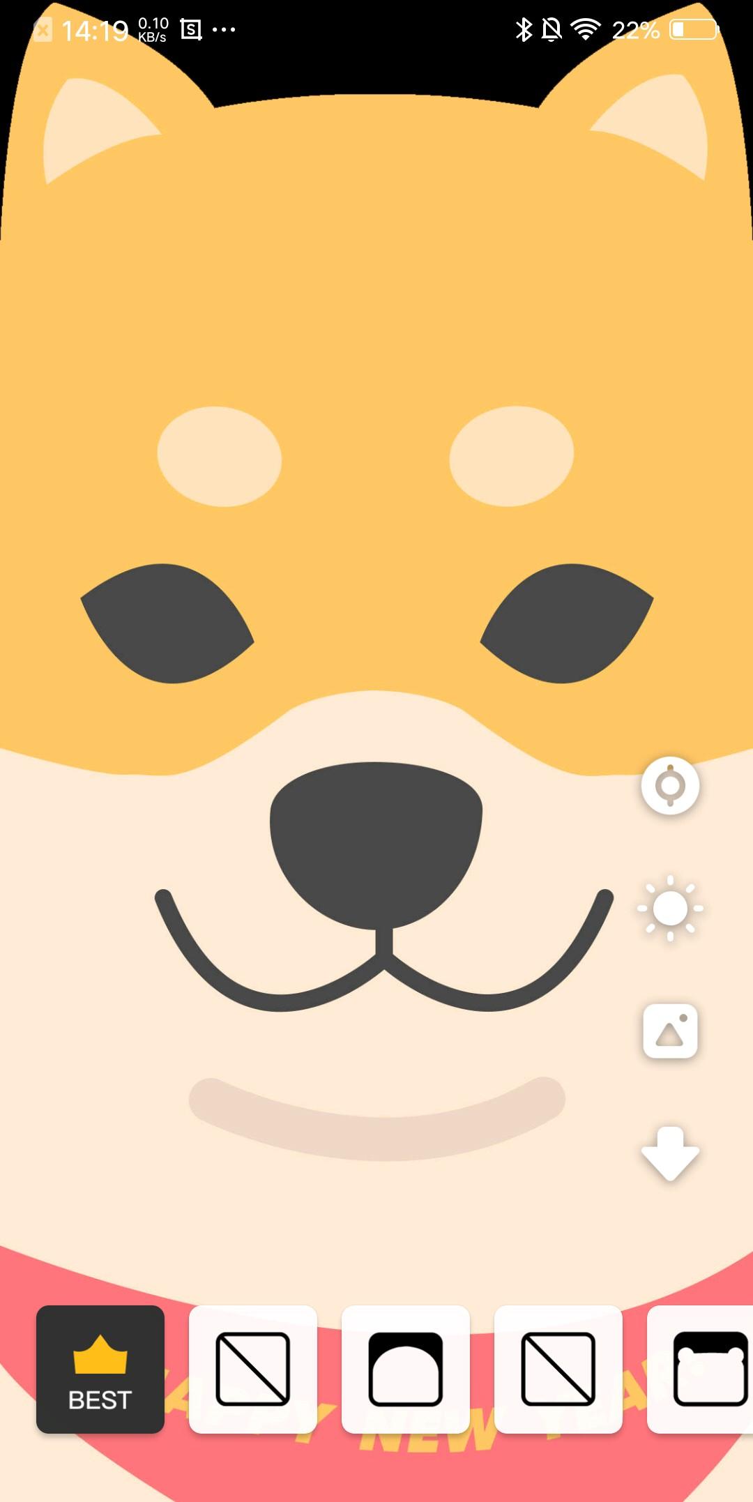 作为一个刘海屏有深深怨念的刘海屏手机用户,这里面做的耳朵模板简直图片