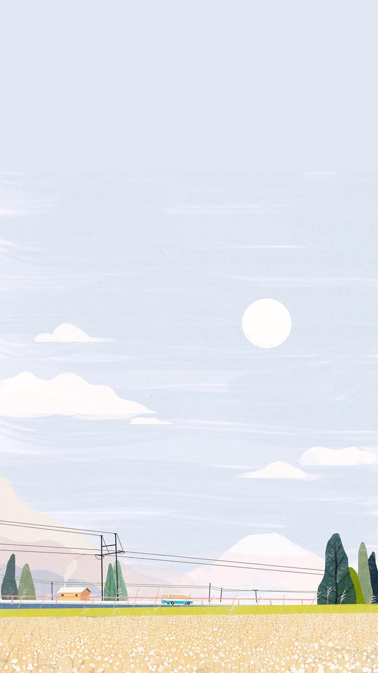 壁纸介绍 一组风景意境插画作品,一个个包含故事意境。树从春天来到了夏天,冷月慵懒的斜挂在夜空,或是一丝寂静一丝孤独一丝迷离去过许多地方,寻找那份安静的美好。  壁纸信息 壁纸名称:唯美风景意境插画 壁纸尺寸:1242*2208 壁纸大小:7.85M 壁纸格式:jpg 壁纸张数:46  壁纸预览