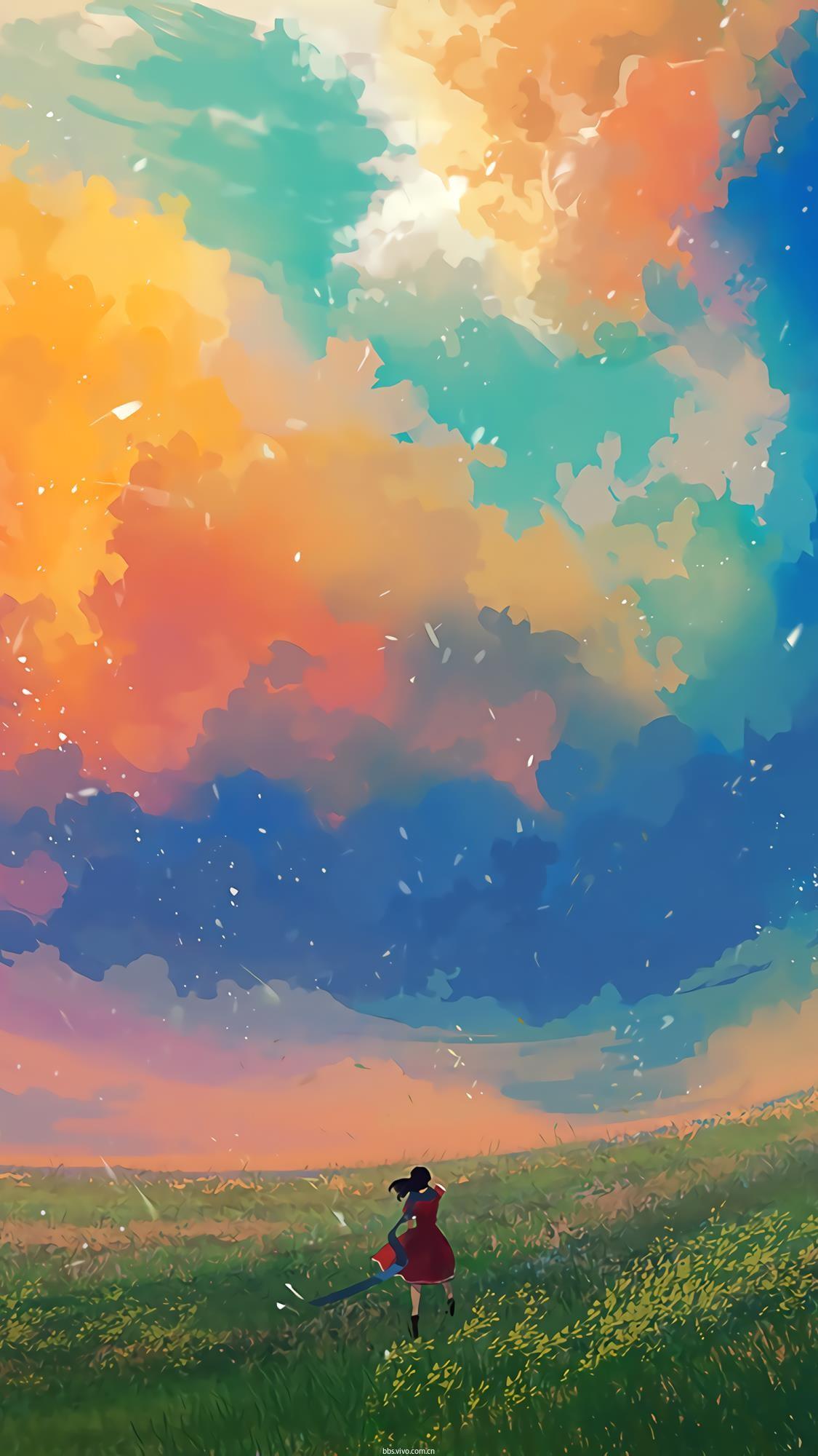 背景 壁纸 风景 天空 桌面 1125_2000 竖版 竖屏 手机