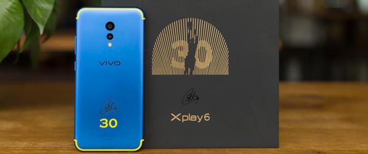 "Xplay6图赏|vivo Xplay6库里定制版:极致炫""库"""