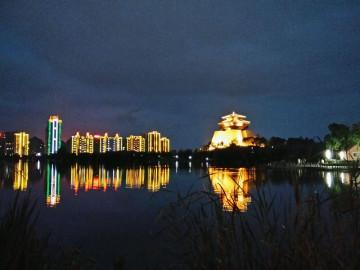 【xshot】摄影作品欣赏之《夜东湖》