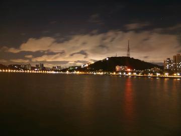 【珠海夜景·Xshot】香洲区野狸岛