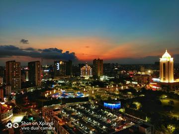 【摄影达人·Xplay6】最美是黄昏,绚丽都市之夜