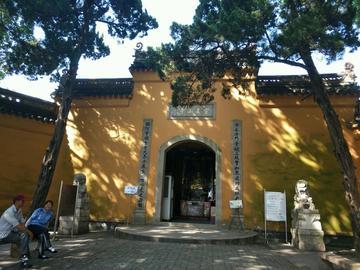 苏州灵岩山寺美景